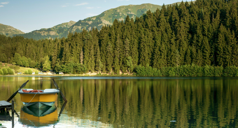 Karagöl Lake in the Şavşat district of Artvin province, Turkey. (Shutterstock Photo)