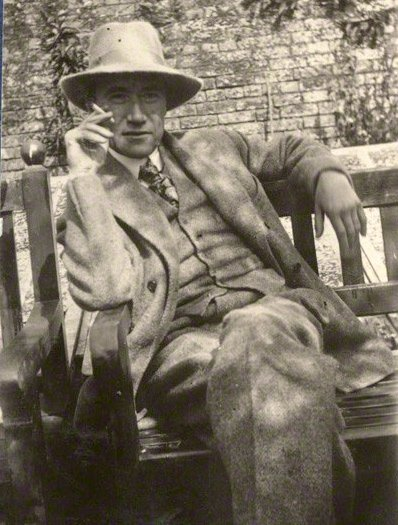 Andre Gide photographed by Lady Ottoline Morrell in 1924.
