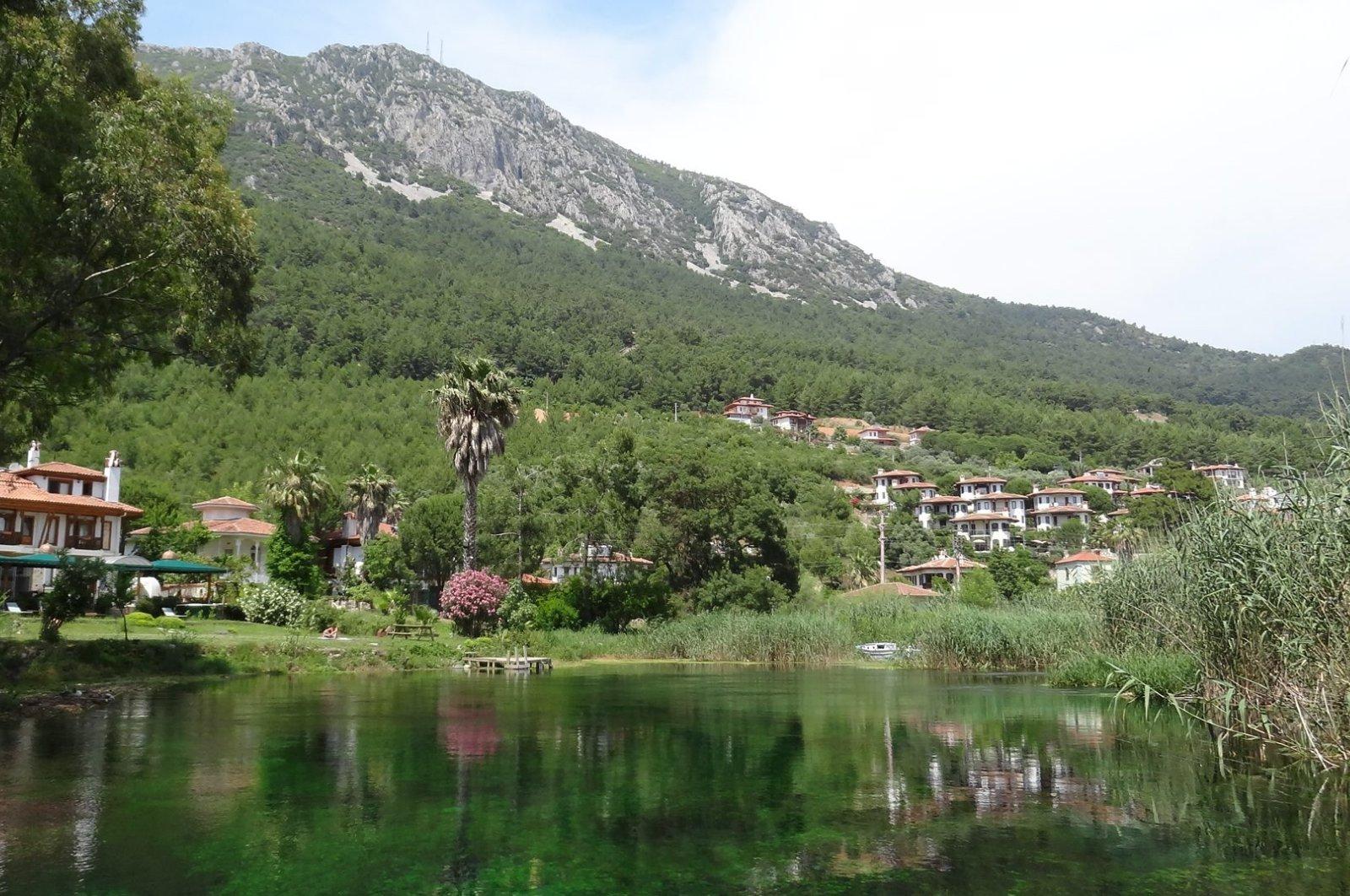 Akyaka on the Azmak River in Muğla, Turkey. (Sabah File Photo)