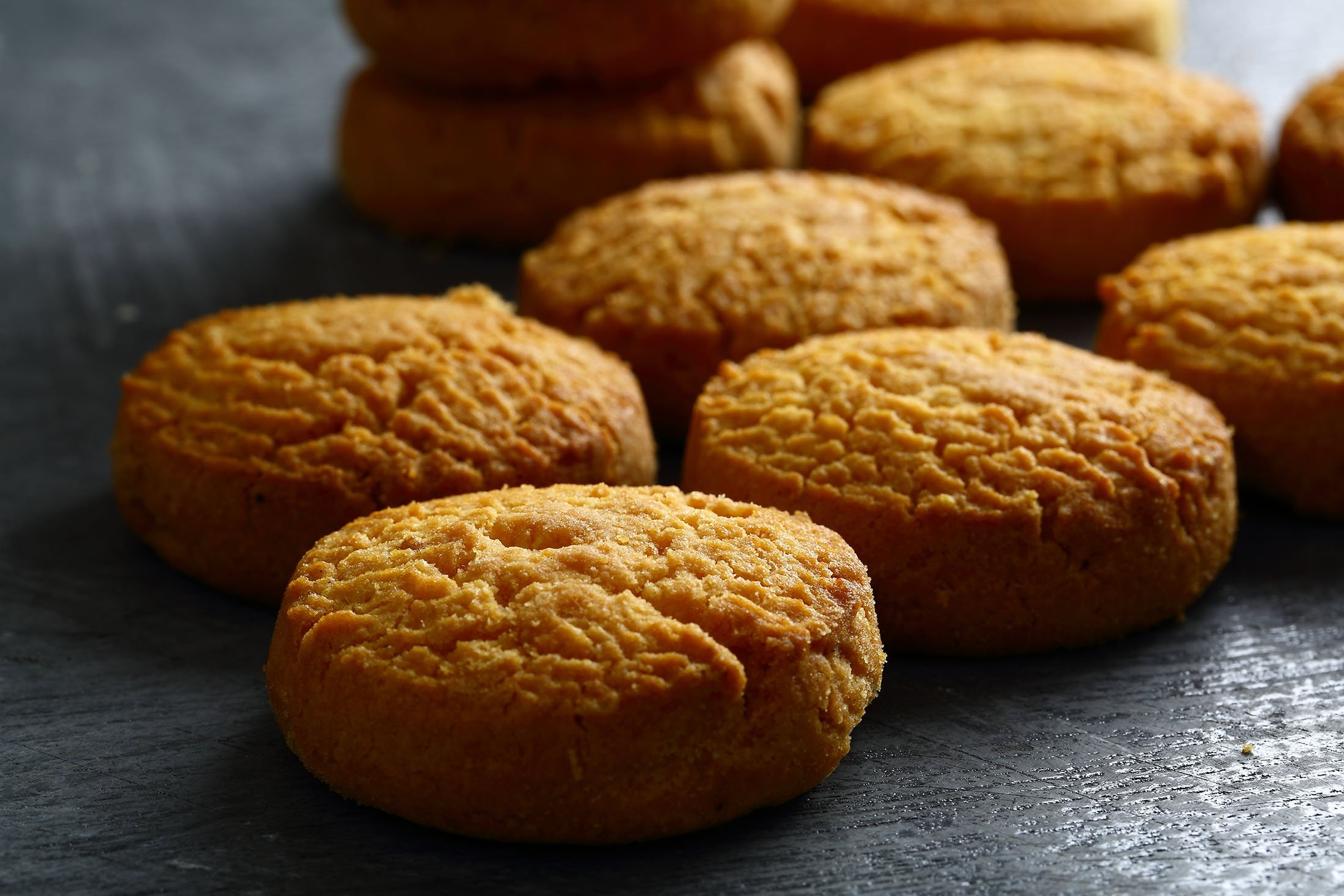 Ghee and honey will make for a dark cookie but you can remedy this with some baking paper. (Shutterstock Photo)