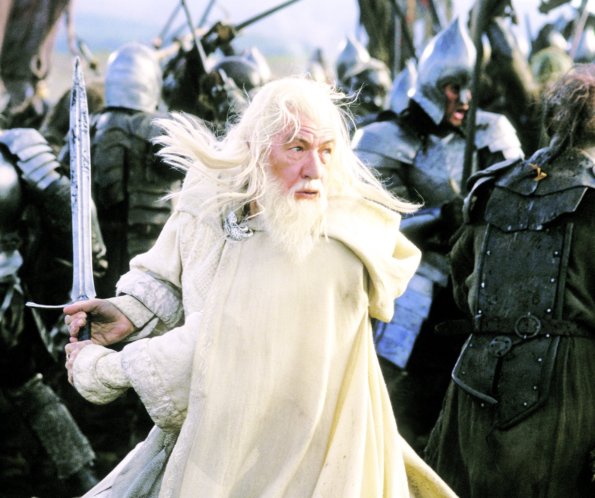Ian McKellen as Gandalf in The Lord of the Rings: The return of the King. (AP/Archive Photo)