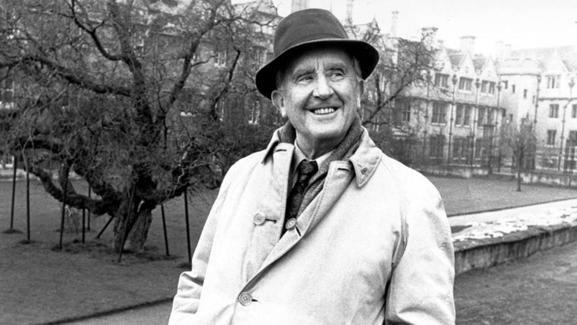 J.R.R. Tolkien. (Archive Photo)