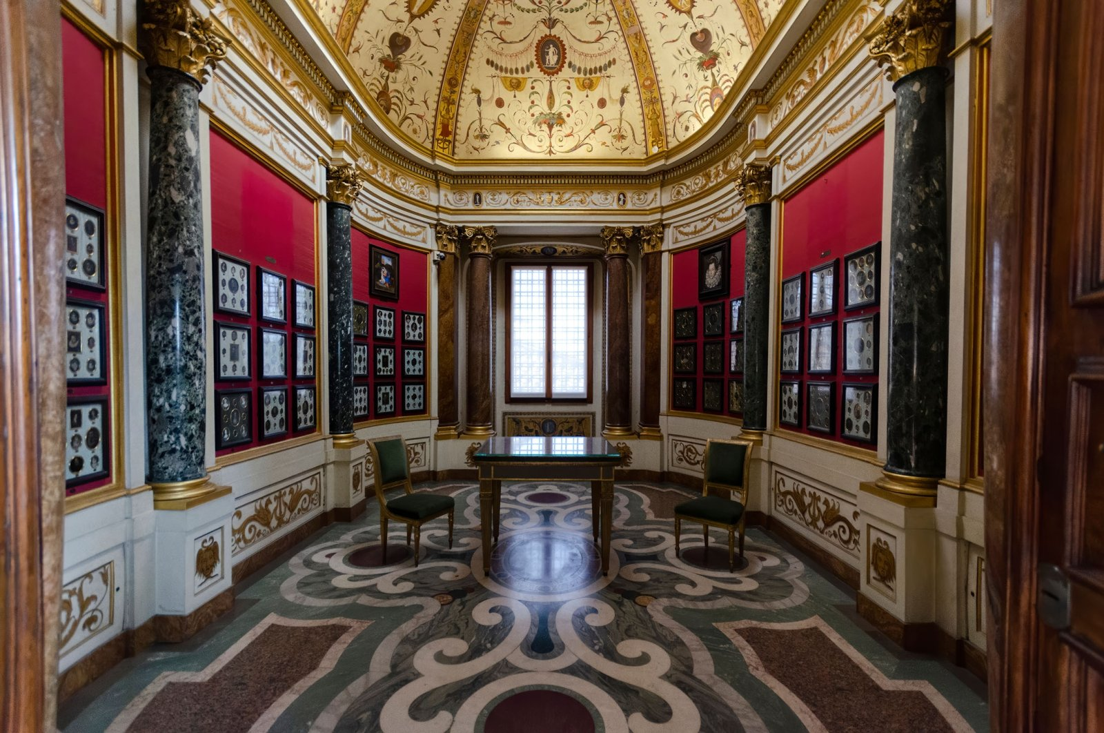 The interior of the Uffizi museum Gallery, the most famous museum in Florence, Italy, Feb. 14, 2020. (Shutterstock Photo)