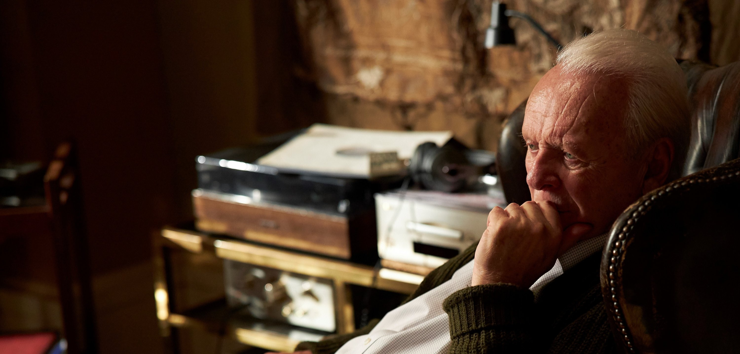 This image released by Sony Pictures Classics shows Anthony Hopkins in a scene from 'The Father.' (AP Photo)