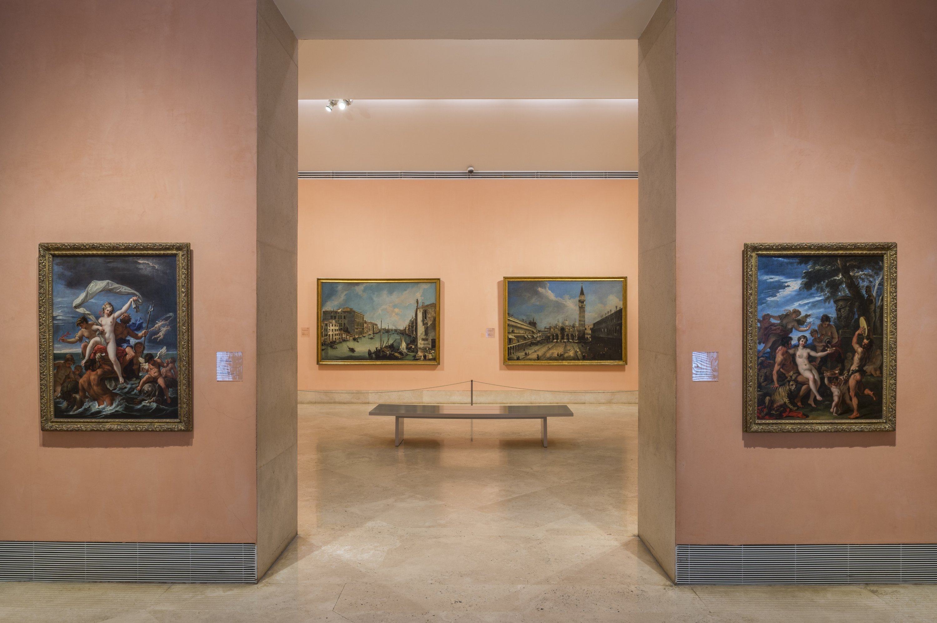 The Museo Thyssen-Bornemisza is part of the Madrid Art Triangle and houses the really big names. (DPA Photo)