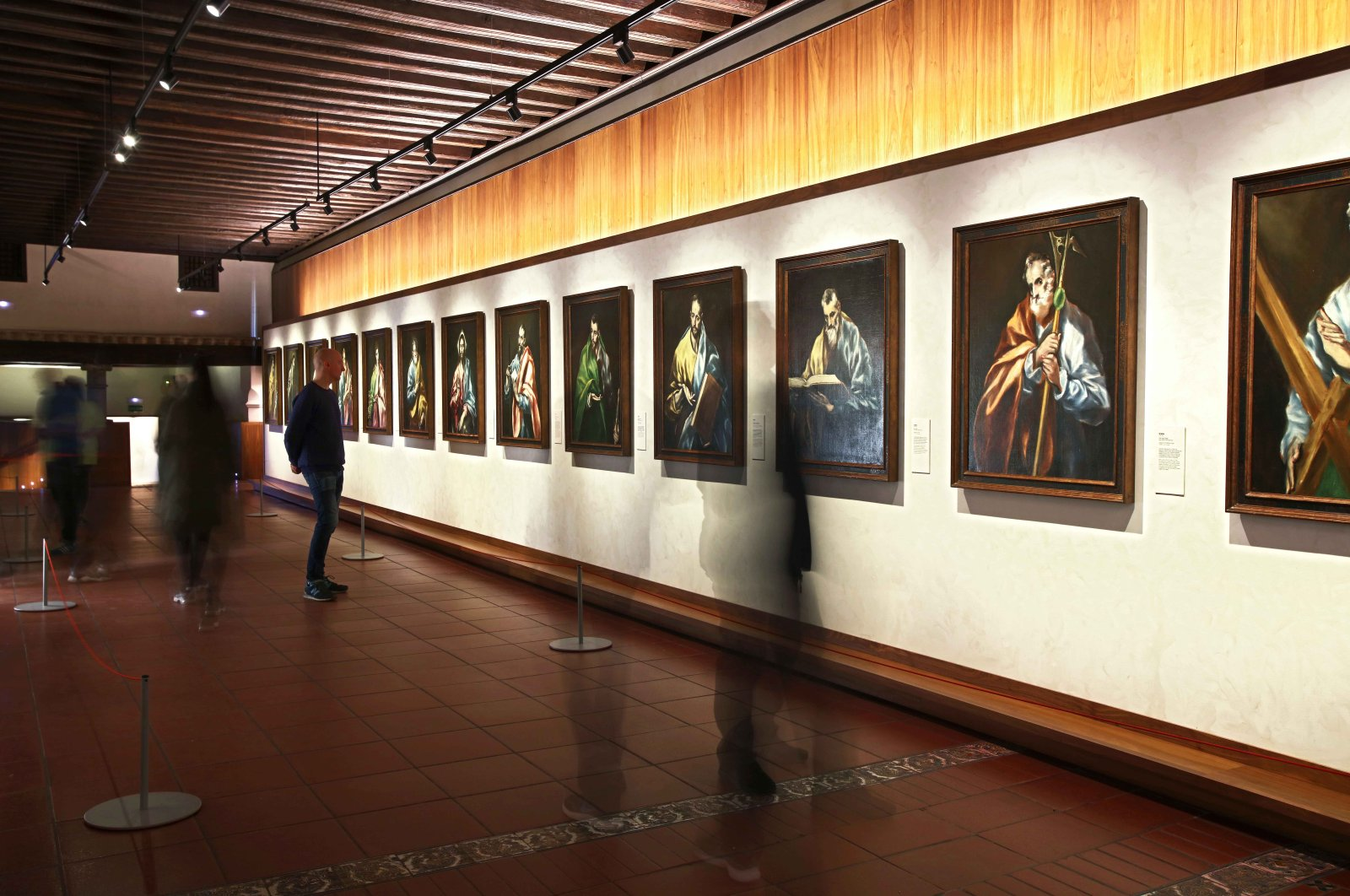 In the Museo del Greco Toledo, visitors can see the unmistakeable style of El Greco for themselves. (DPA Photo)