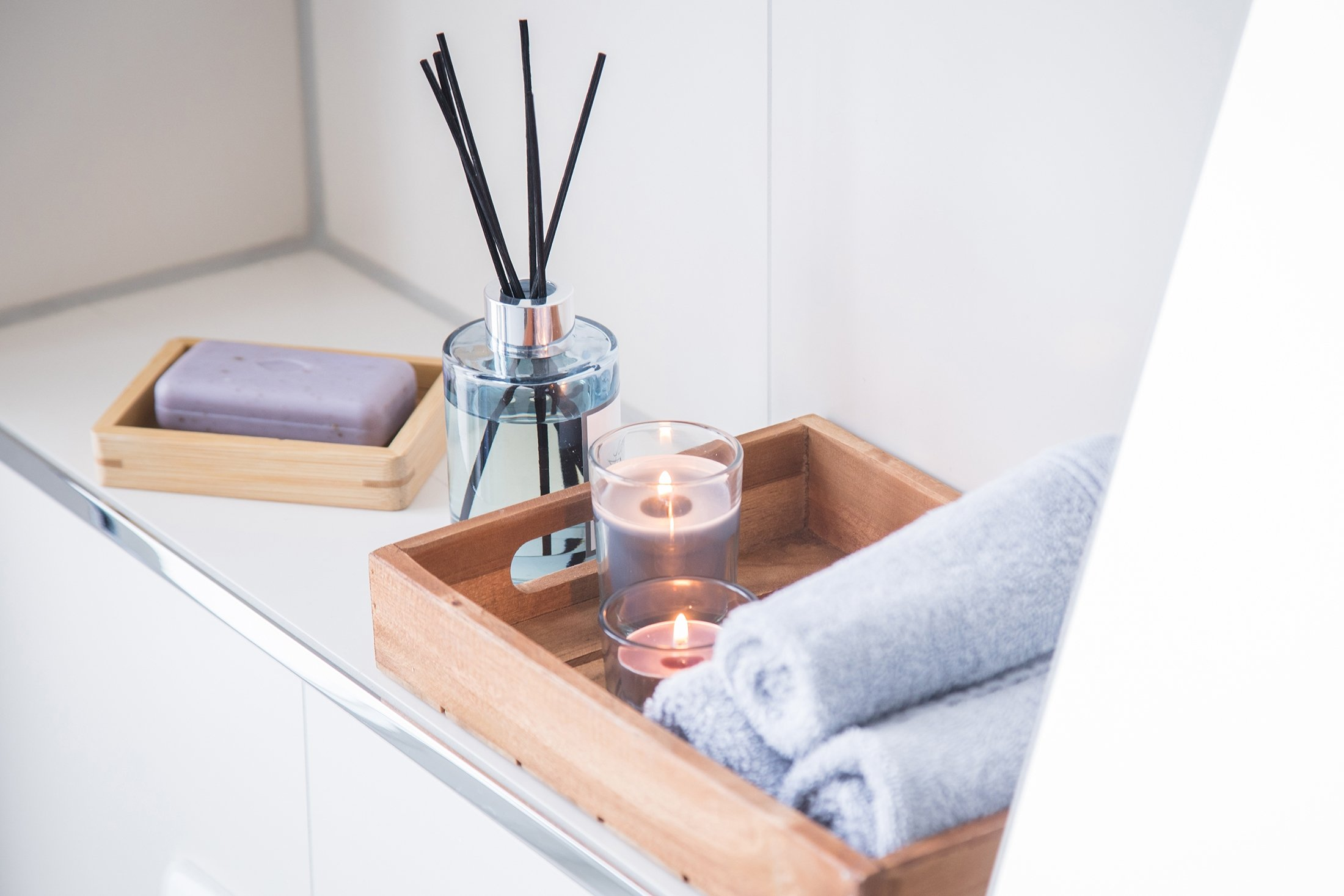 For many, home fragrances are about creating a nicer atmosphere at home. (DPA Photo)