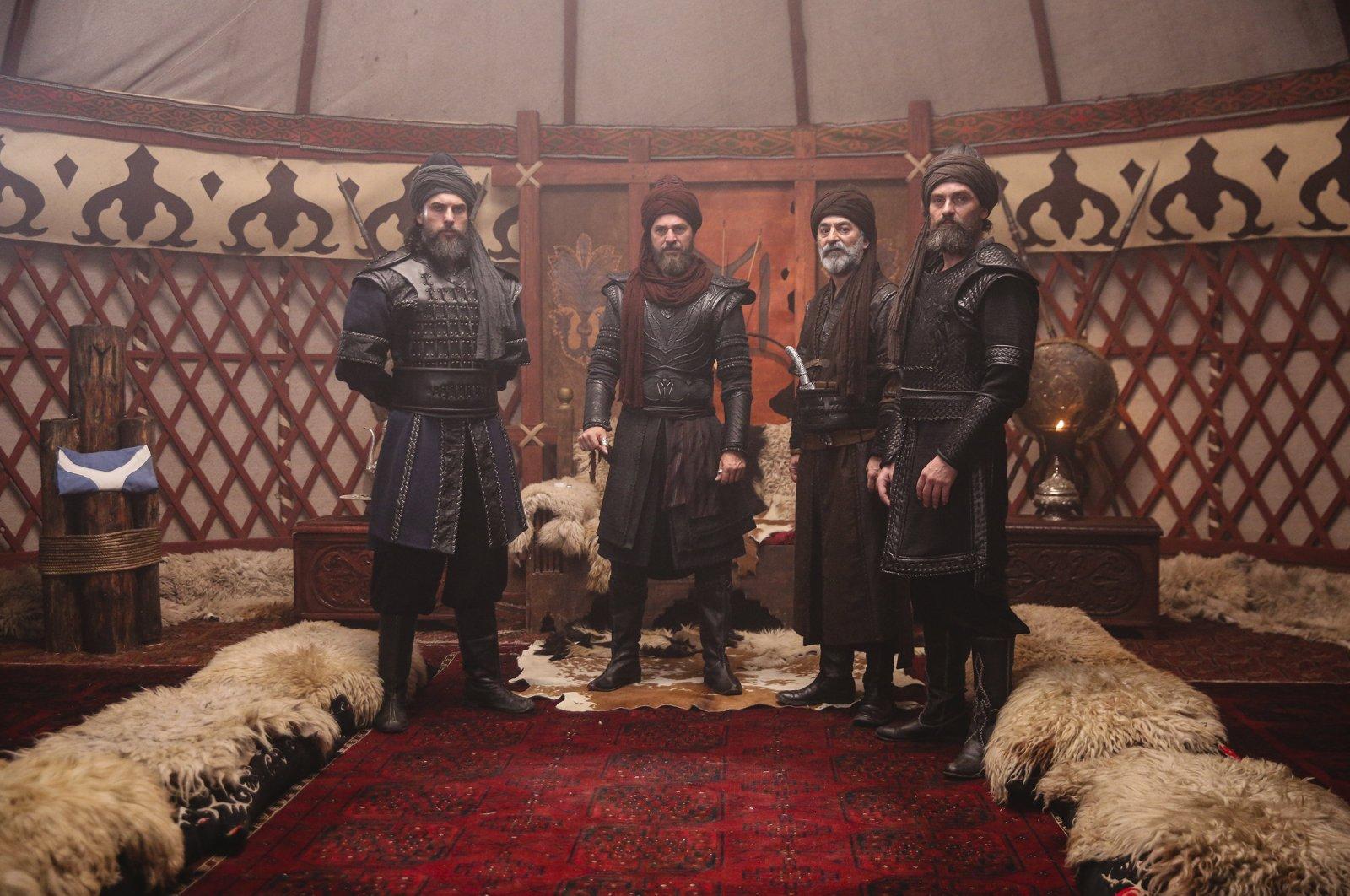 "A still shot from ""Diriliş Ertuğrul"" (""Resurrection Ertuğrul"")."