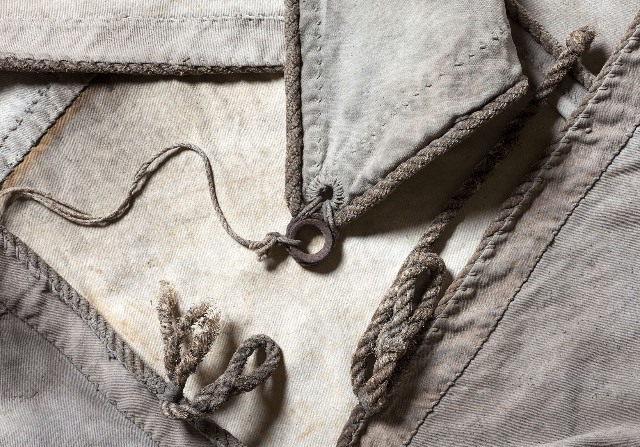 Although used sailcloths may seem like old rags to most, there are many creative ways to use them. (Shutterstock Photo)