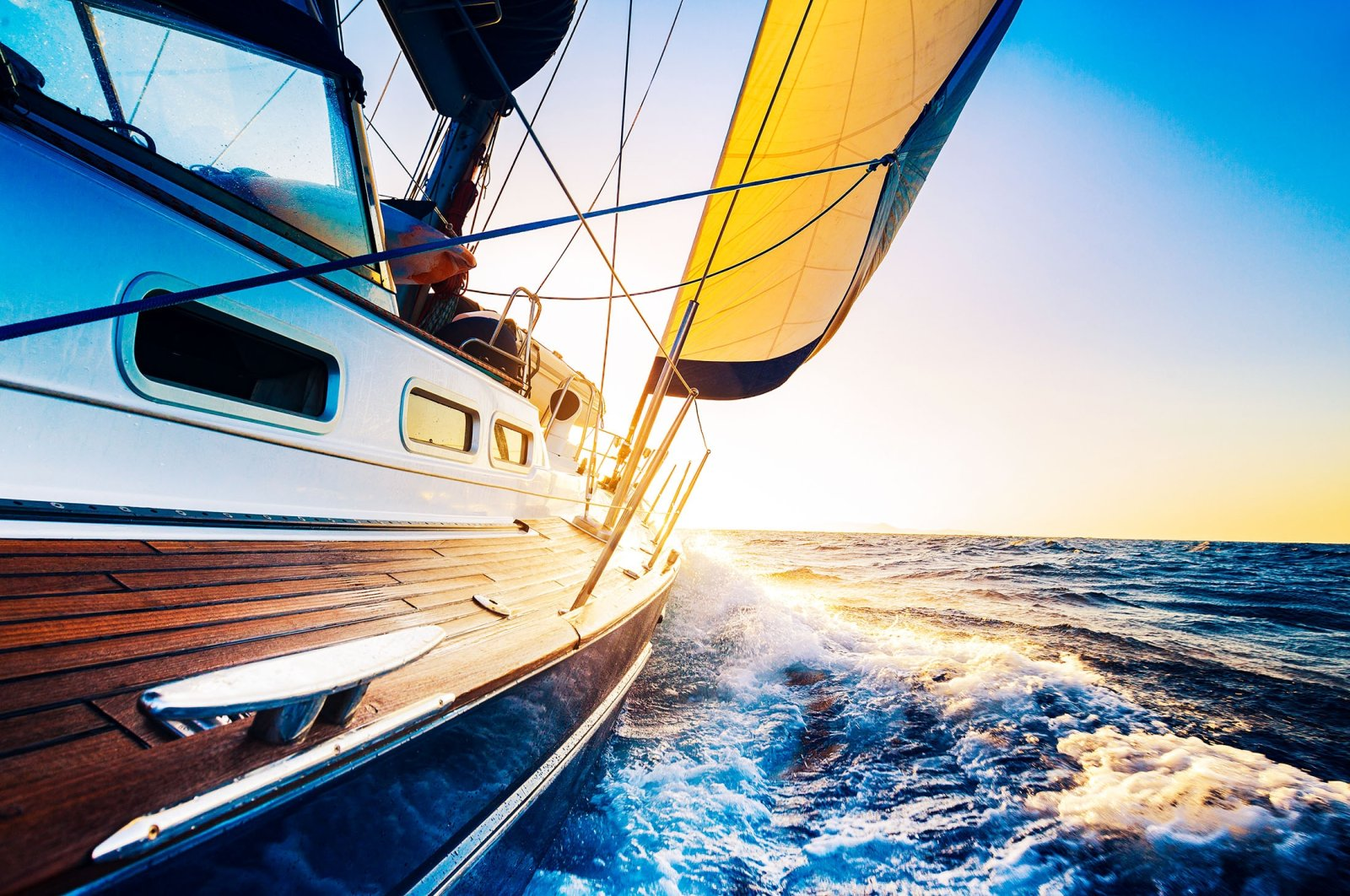 When a sail rips or is on its last legs, upcycling the fabric into something useful saves it from going to trash. (Shutterstock Photo)