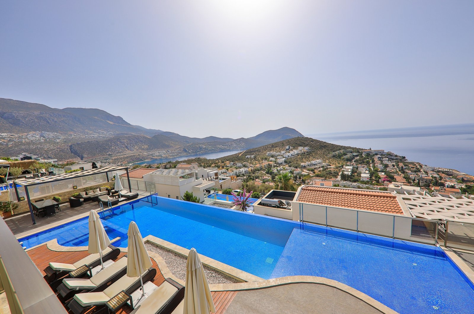 Villas on lease for a socially distant vacation are a hit in Turkey's Antalya. (DHA Photo)