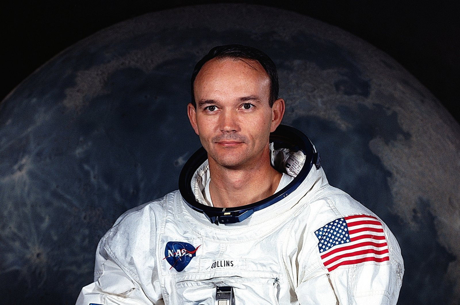 Apollo 11 astronaut Michael Collins poses for his official portrait in this July 1969 handout photo courtesy of NASA. (NASA - Handout via Reuters)