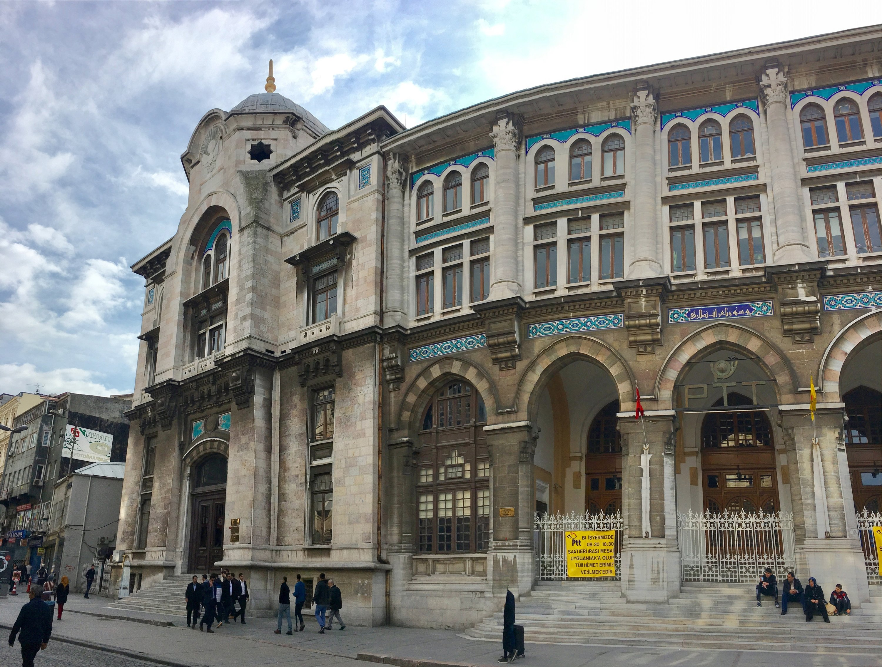The Istanbul Grand Post Office is an office building for postal services located in the Sirkeci quarter of Fatih district in Istanbul, Turkey, Feb. 19, 2017. (Photo by Shutterstock)