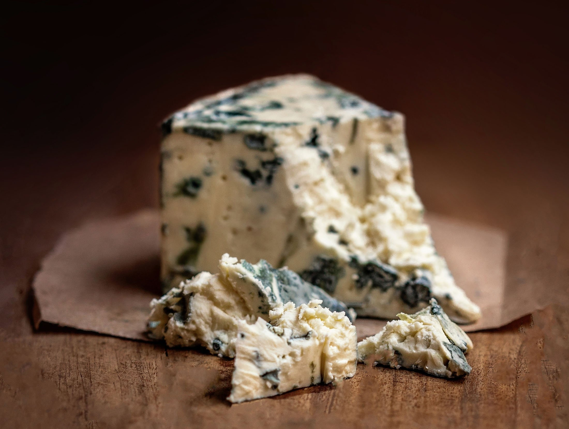 Gorgonzola is a specific type of blue cheese that is produced in northern Italy.  (Shutterstock Photo)