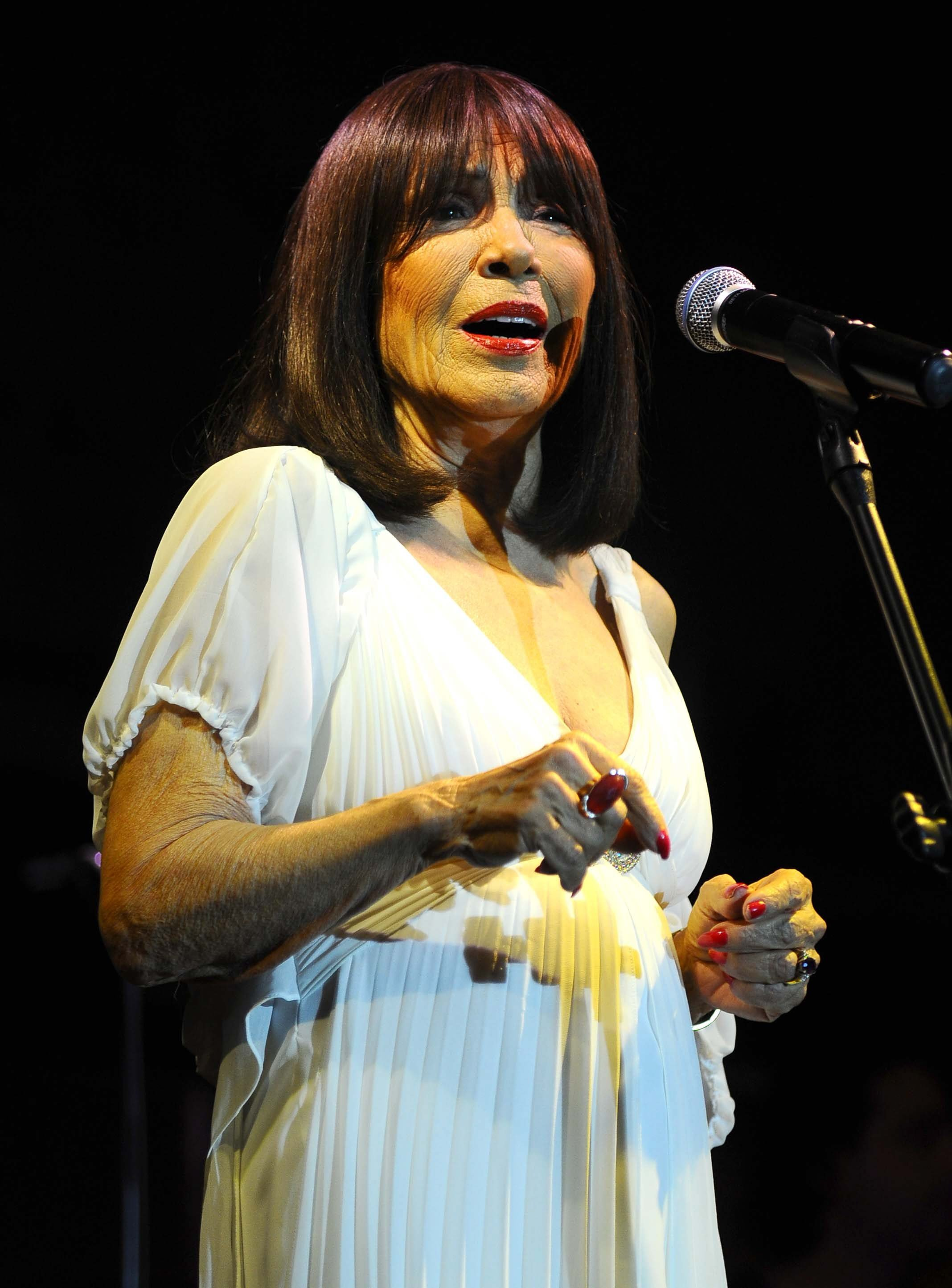 Ayten Alpman started to perform professionally together with the Ilham Gencer Ensemble in 1949. (File Pfoto)