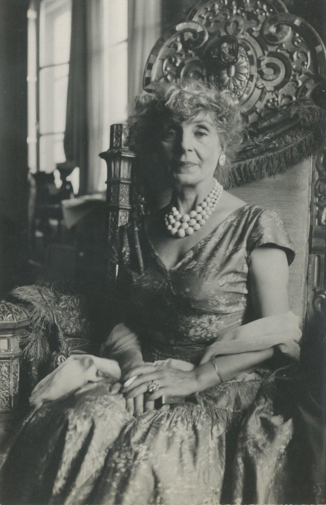 Aliye Berger was a member of the famed artistic Kabaağaçlı family. (Courtesy of SALT Research)