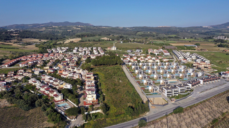 Summerhouses are neatly arranged in Aydın province, western Turkey, May 1, 2021. (AA Photo)