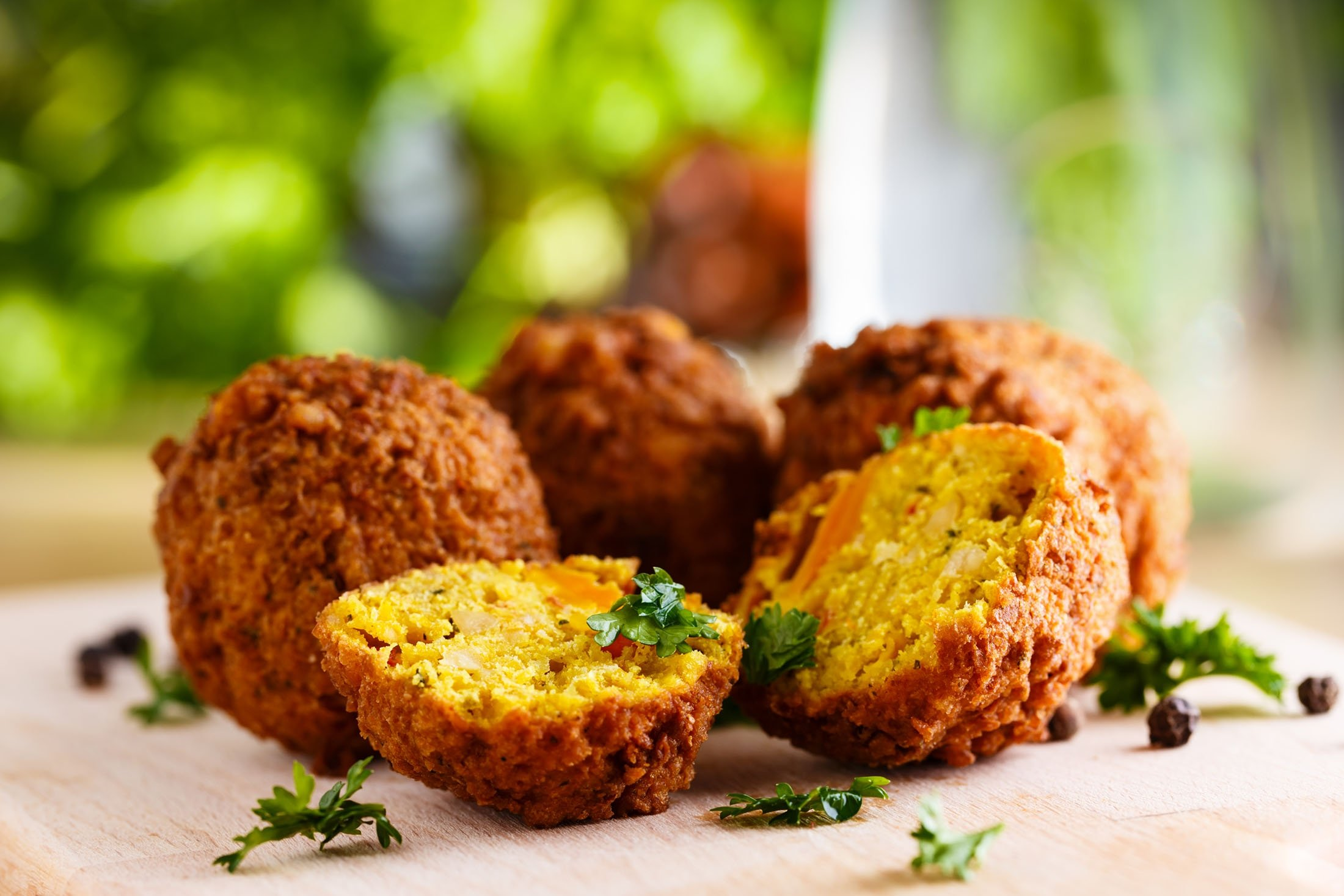 Falafels are a great vegan choice for iftar. (Shutterstock Photo)
