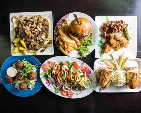 Besides classically Turkish foods, Lazuri Cafe also offers a selection of more classically western foods. (Courtesy of Lazuri Cafe)