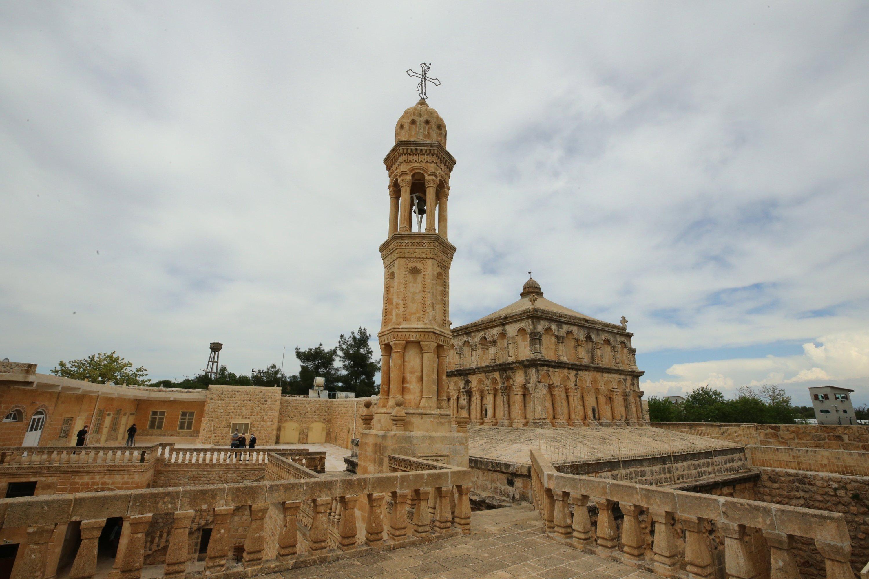 Interior view of Yuldat Alohu Church (Maryam Anna), Mardin, southeastern Turkey, May 2, 2021 (AA Photo)