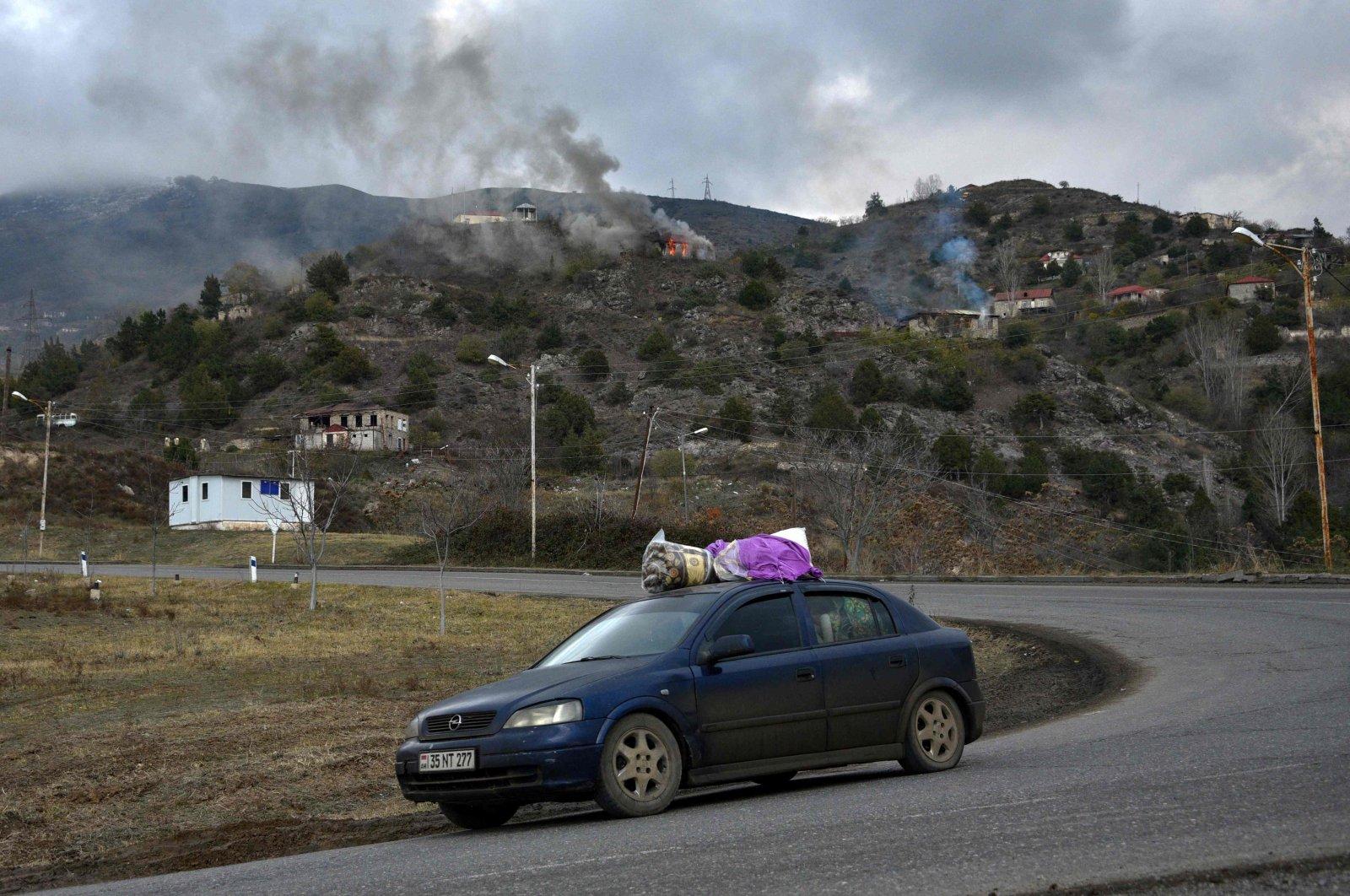 Russian troops expand presence in Armenia near Azerbaijani border