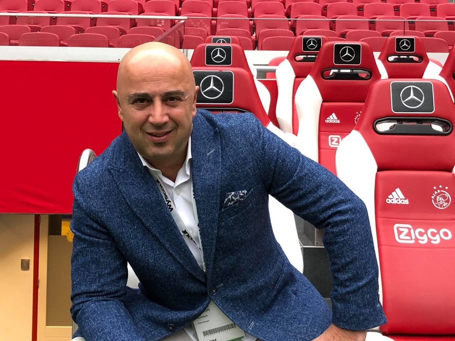 Tarkan Batgün, one of the founders of the Turkish startup Comparisonator that develops data-driven football scouting solutions.