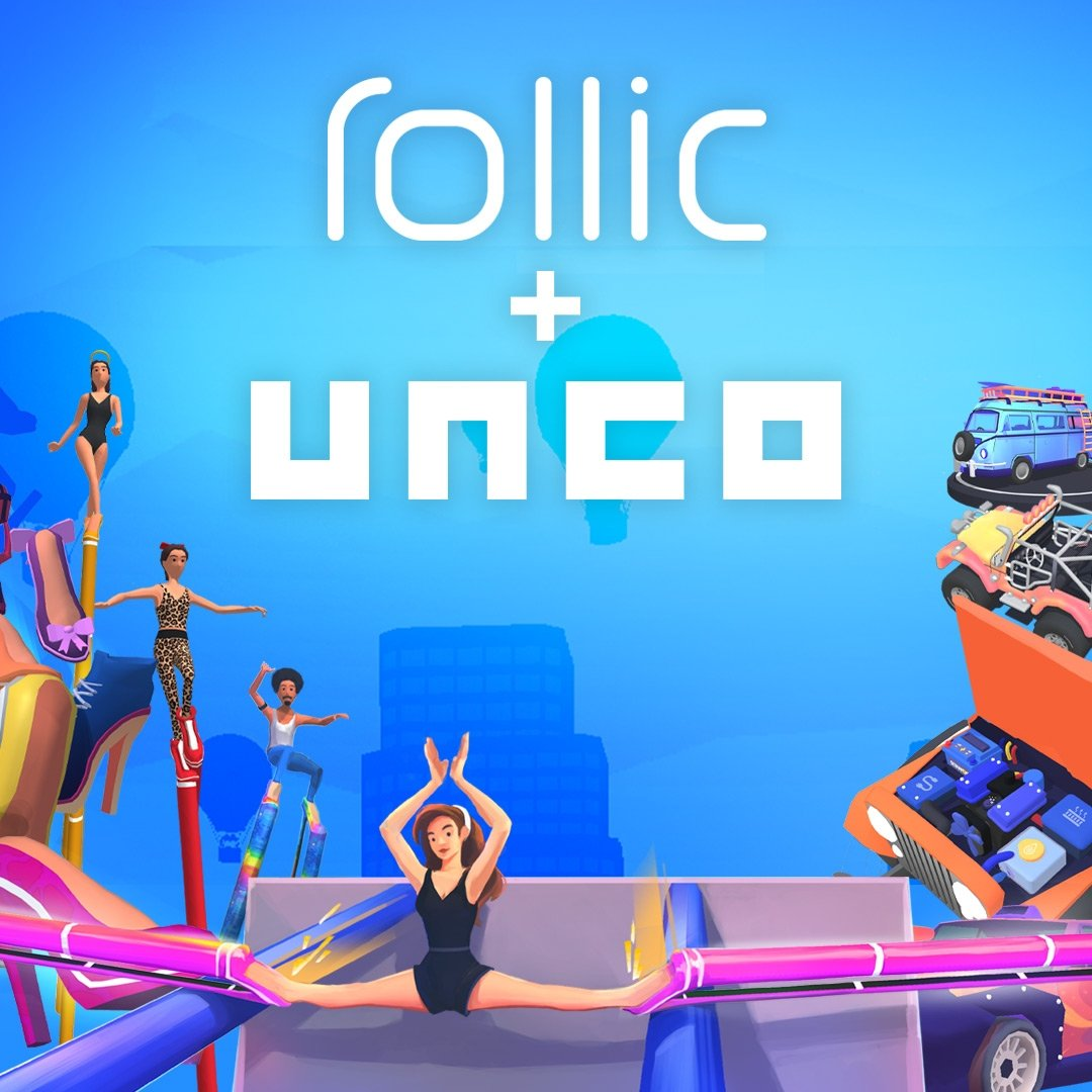 The High Heels!, in which the player navigates an obstacle course in increasingly ridiculous high heels, has been downloaded more than 70 million times since it launched in January. (Courtesy of Rollic)