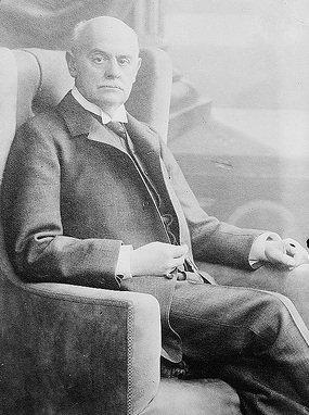A photo of Austrian Ambassador Johann Markgraf von Pallavicini.