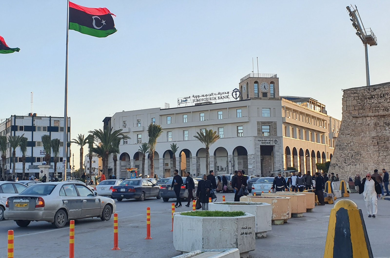 A view of Martyr's square in the capital Tripoli, Libya, Jan. 20, 2020. (AFP File Photo)