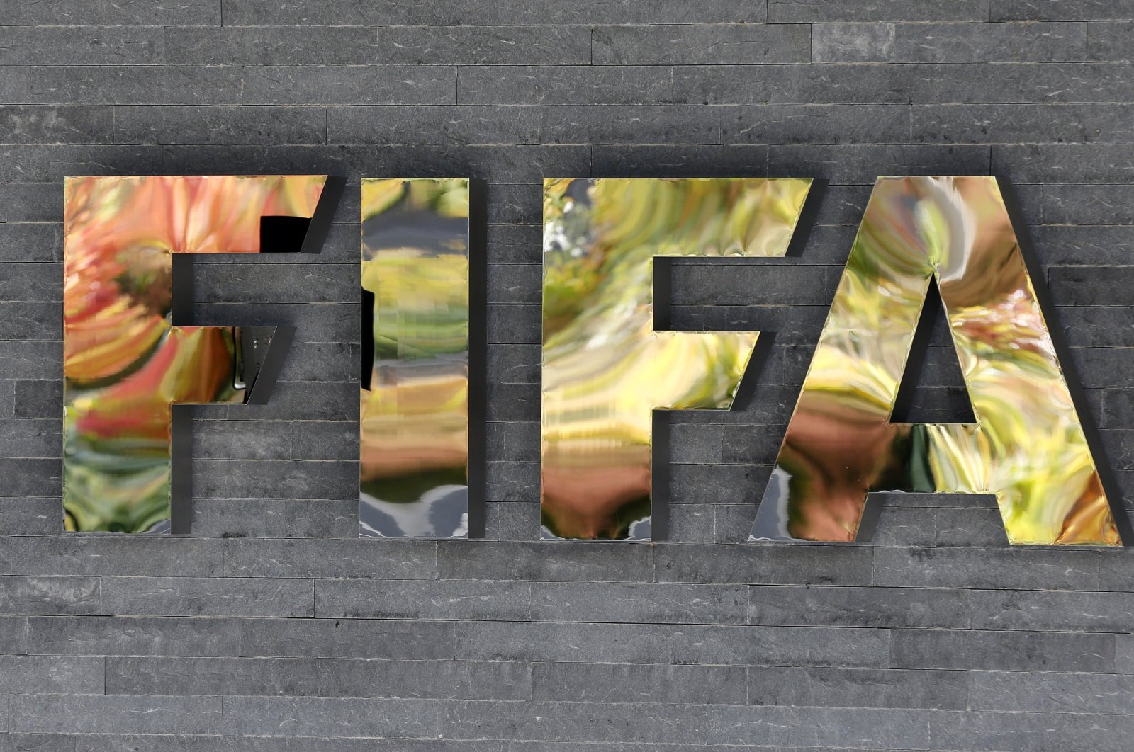 The FIFA displayed at its headquarters in Zurich, Switzerland, Sept. 25, 2015.