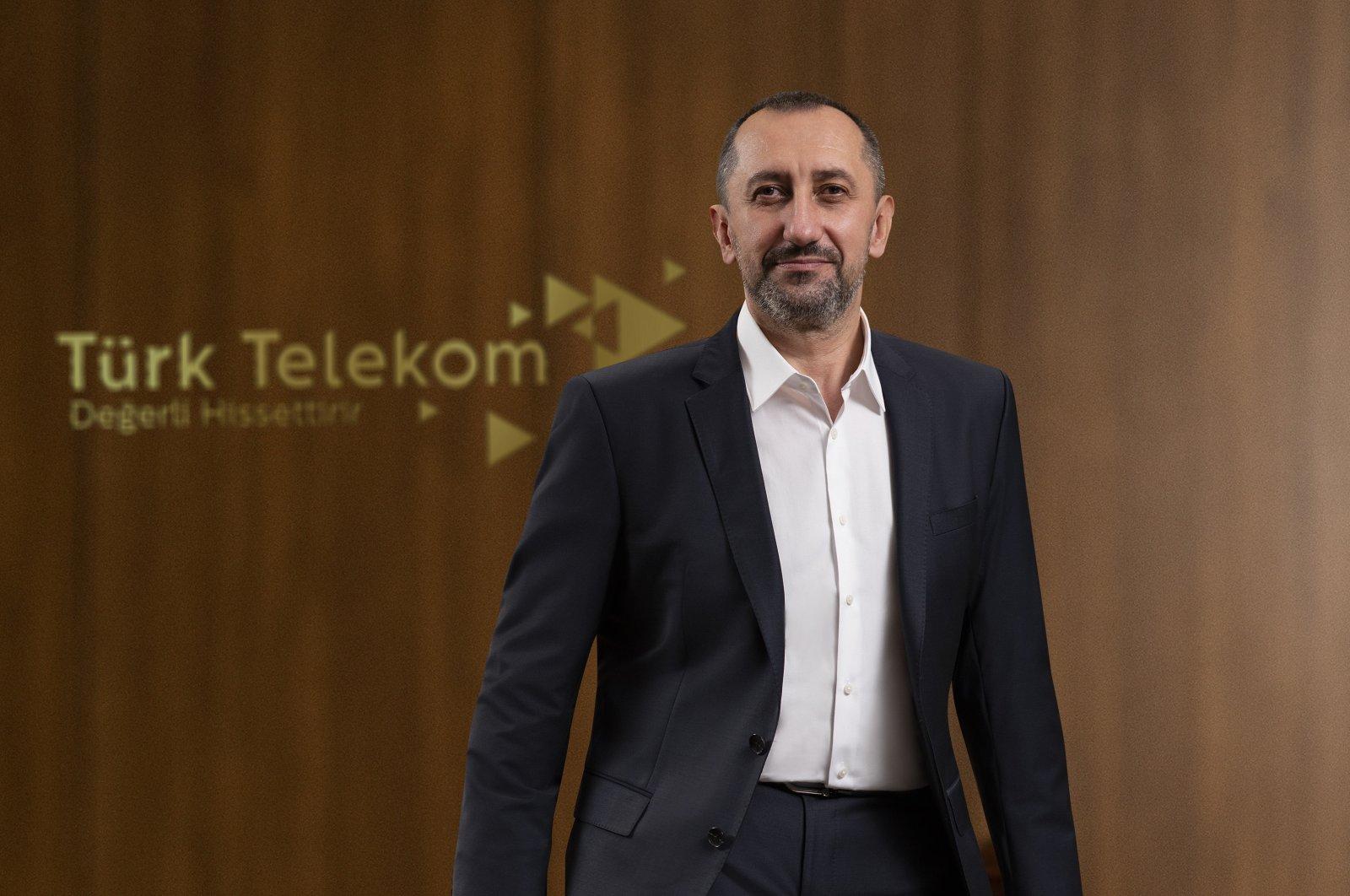 Türk Telekom CEO Ümit Önal is pictured in this photo provided on Jan. 13, 2021. (Courtesy of Türk Telekom)