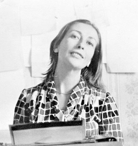 A photo of Emine Işınsu in her youth. (AA Photo)