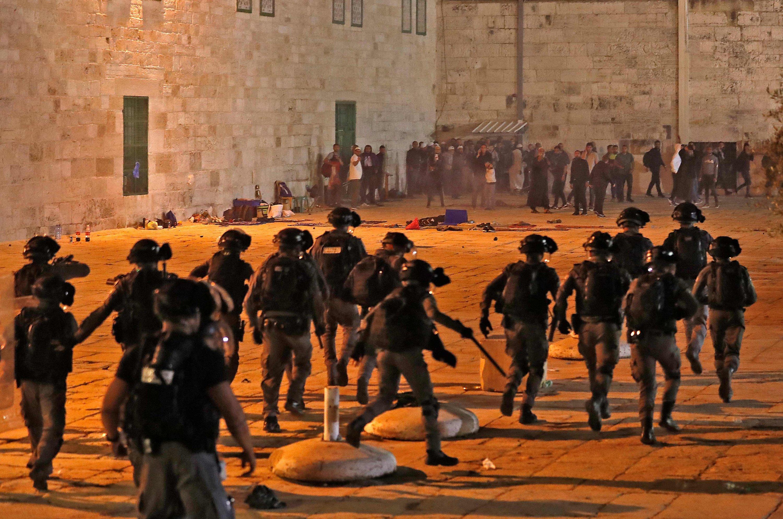UAE, Saudi, Turkish Cyprus condemn Israeli attacks on al-Aqsa | Daily Sabah