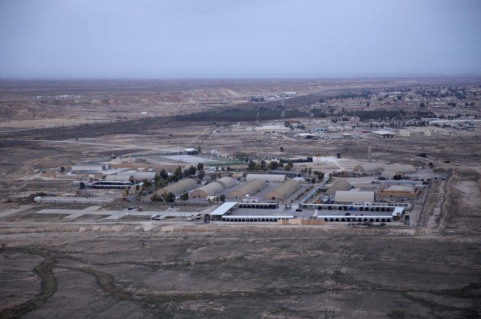 Ain al-Asad air base seen in the western Anbar desert, Iraq, Dec. 29, 2019. (AP Photo)
