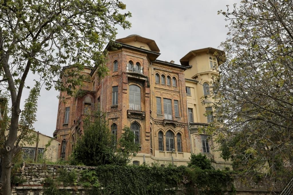 An exterior view of the Bolulu Habib Bey Mansion, Istanbul, Turkey, May 5, 2021. (DHA Photo)