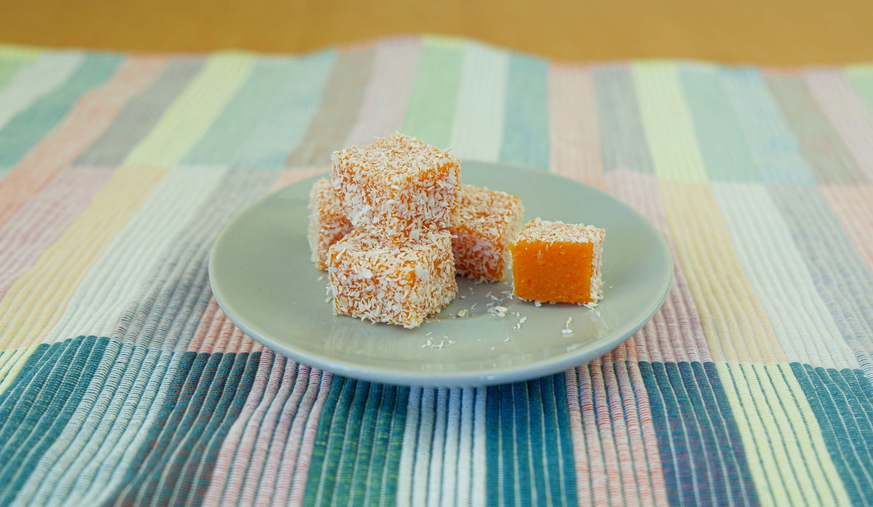 Using carrots is one of the healthiest ways of making homemade Turkish delight. (Photo by Ayla Coşkun)