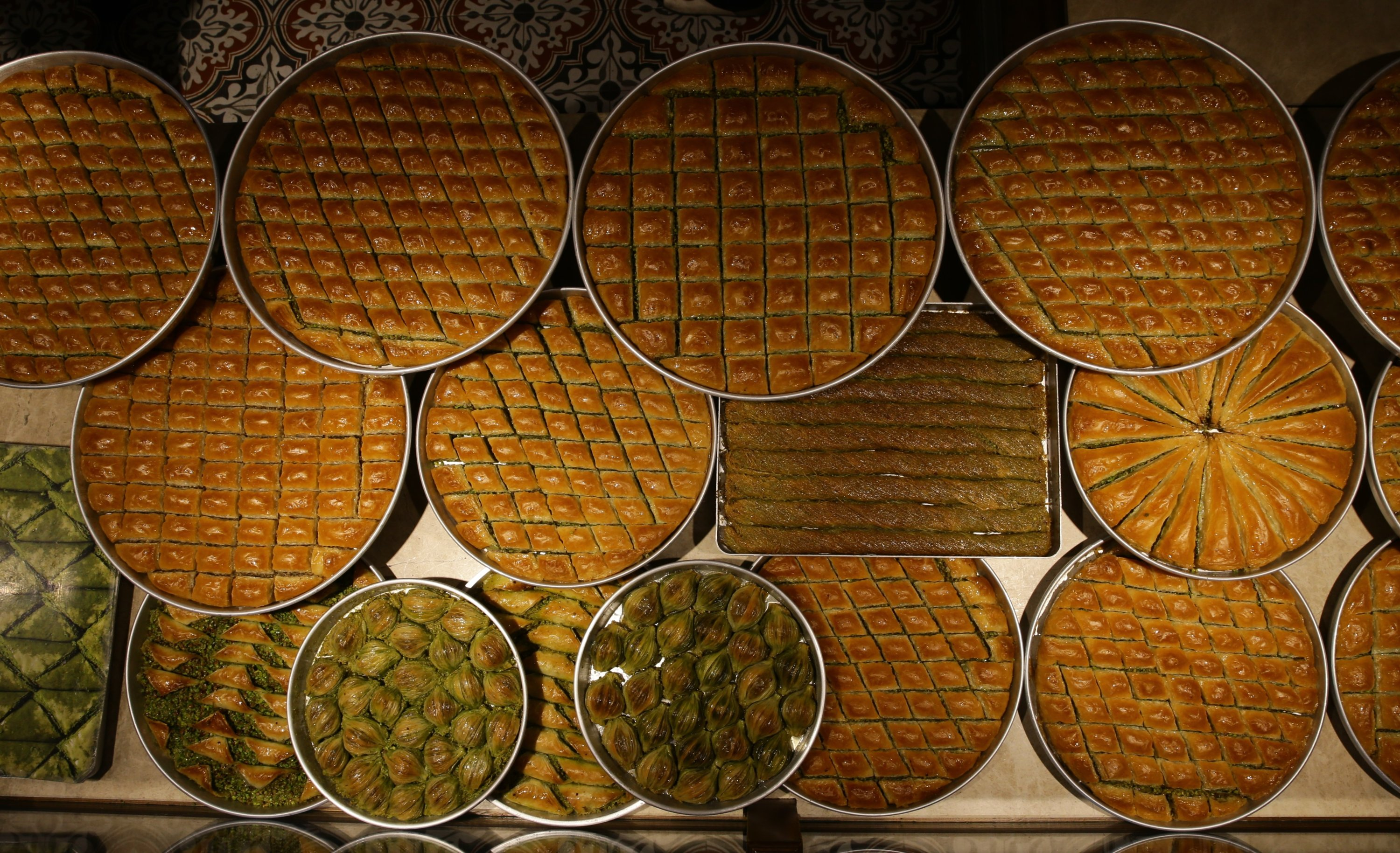Baklava is the number 1 most requested and consumed dessert during Ramadan Bayram in Turkey. (AA Photo)