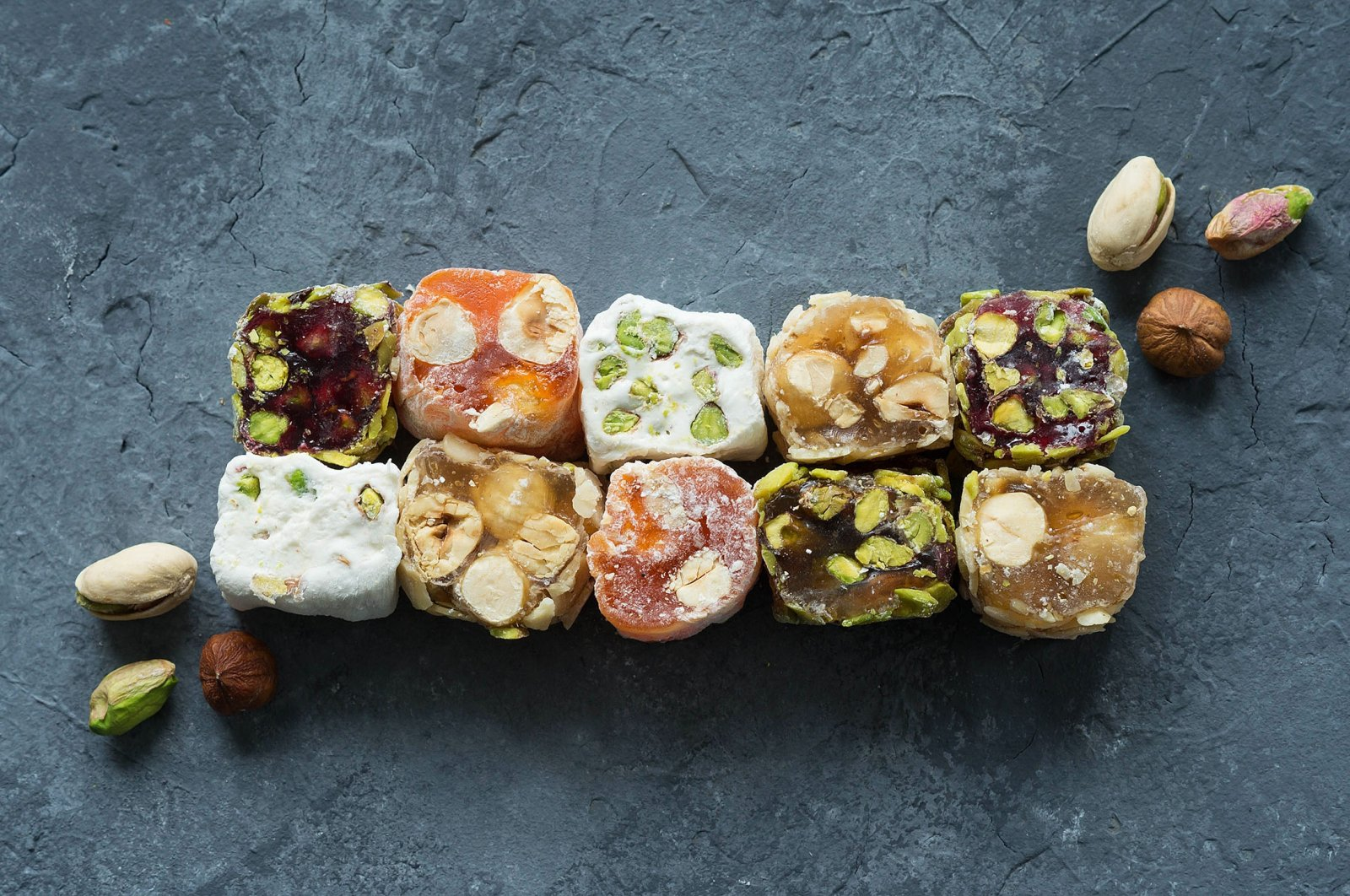 You can make many flavor and texture combinations with Turkish delight. (Shutterstock Photo)