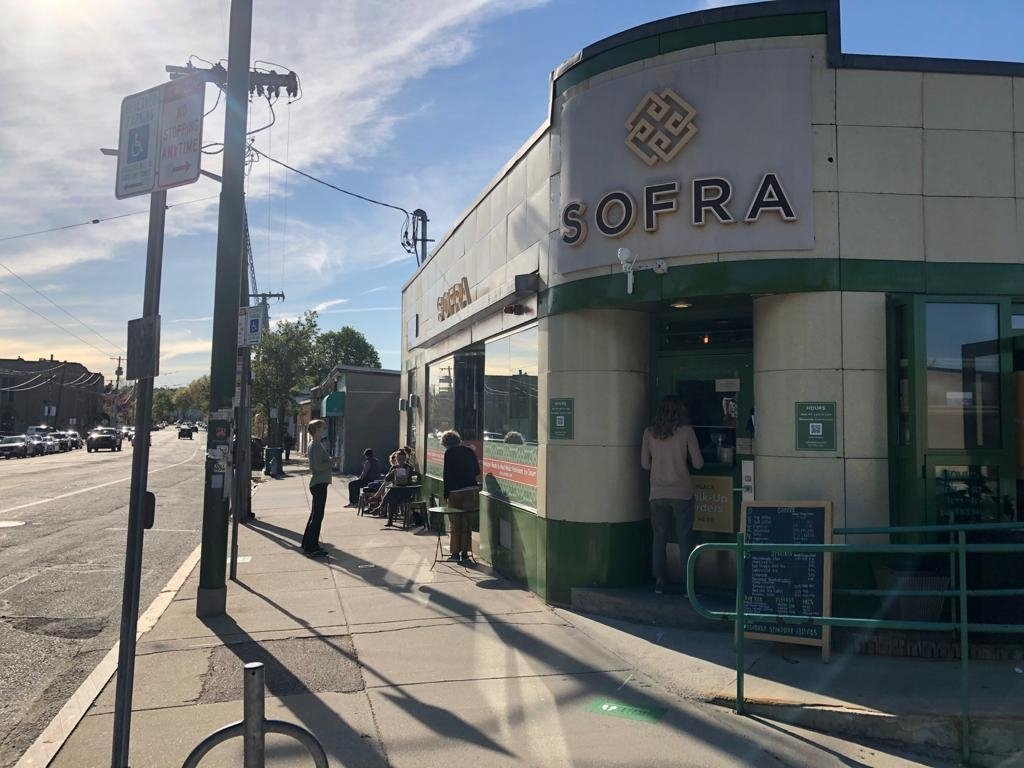 A corner kitchen called Sofra in Boston runs a menu with dozens of Turkish dishes.  (Matt Hanson for the Daily Sabah)