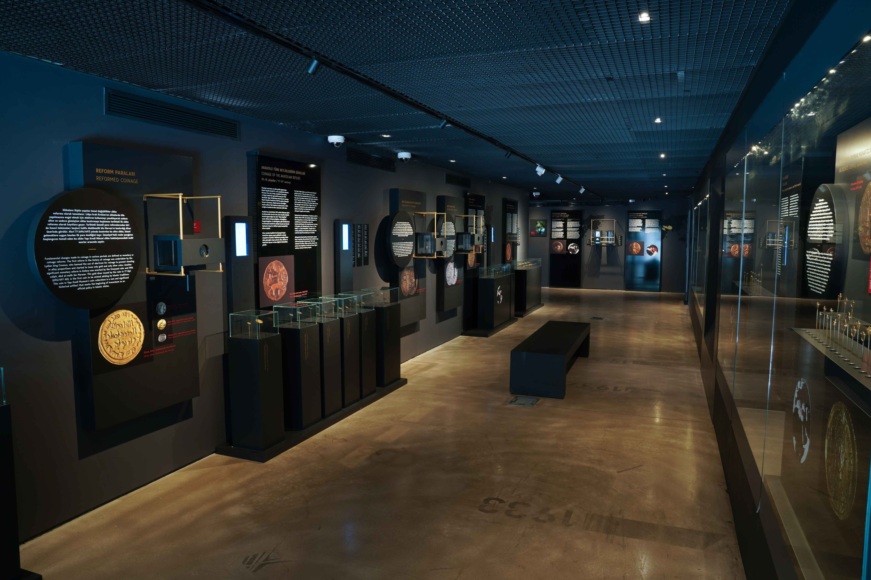 A general view from the exhibition at Yapı Kredi Museum, Istanbul, Turkey. (Courtesy of Yapı Kredi Museum)