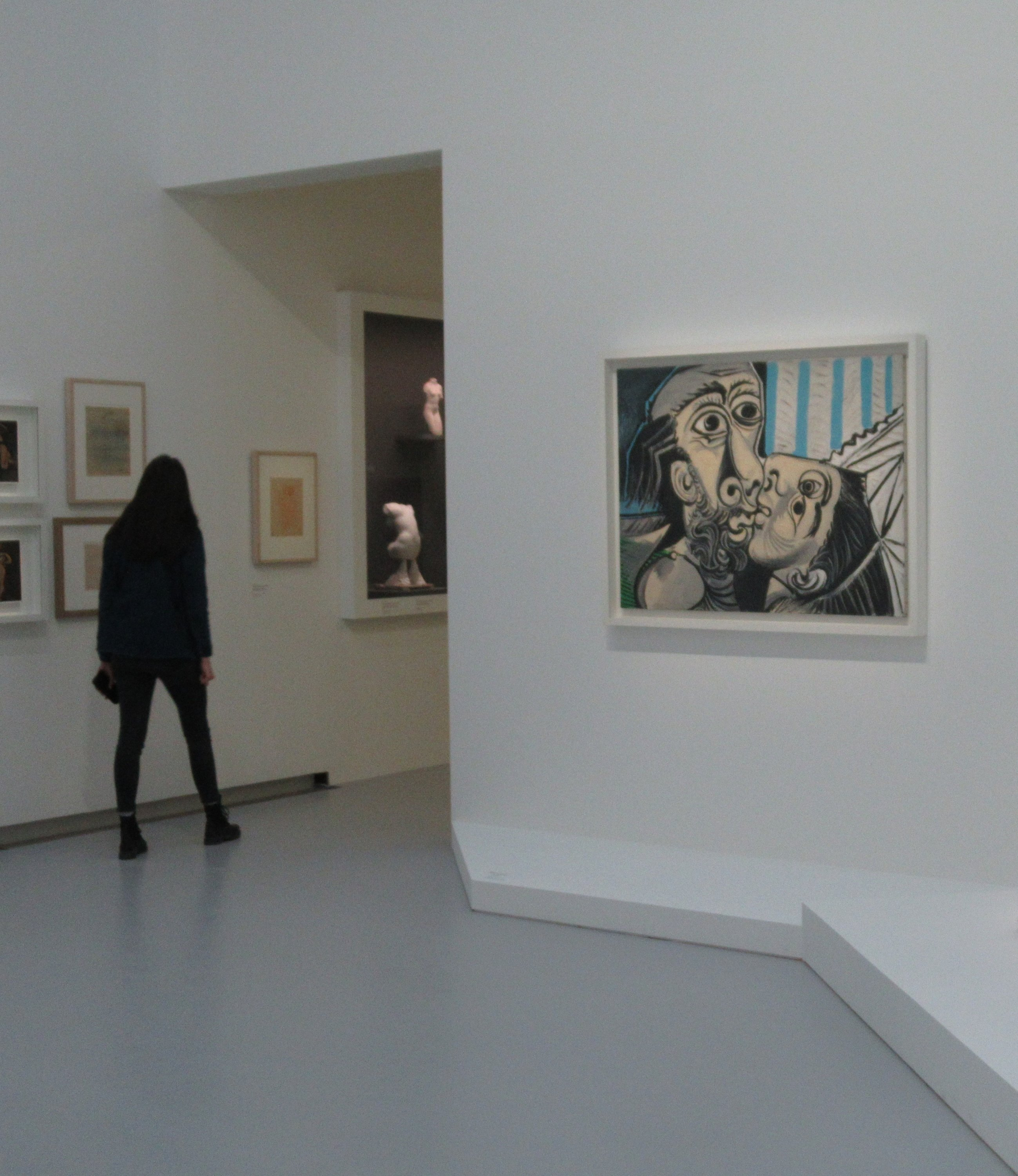 A view from the 'Picasso-Rodin' exhibition at the Rodin Museum, Paris, France. (DPA Photo)