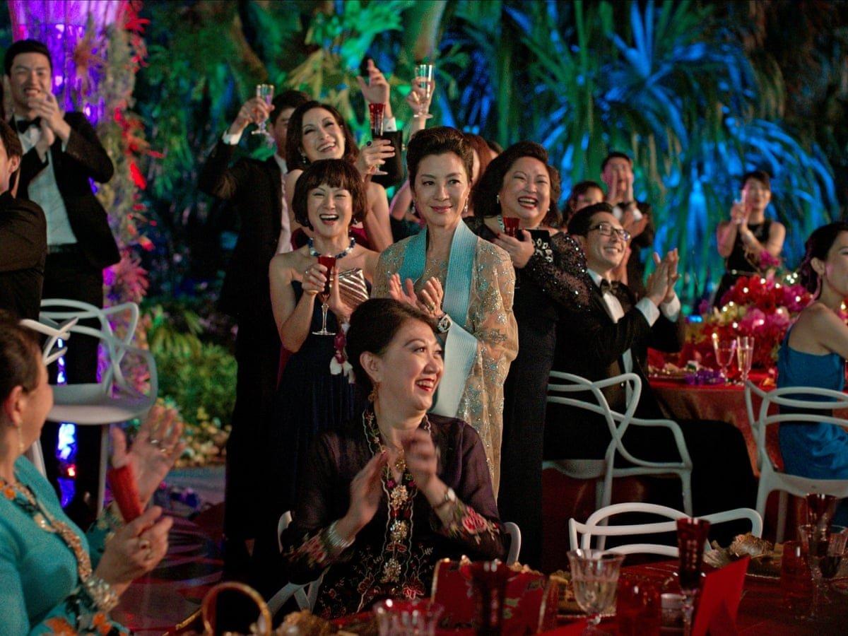 A still from 'Crazy Rich Asians.'