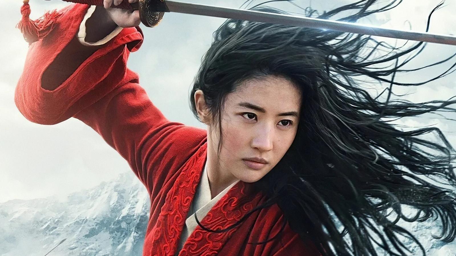 """A still shot from """"Mulan."""""""