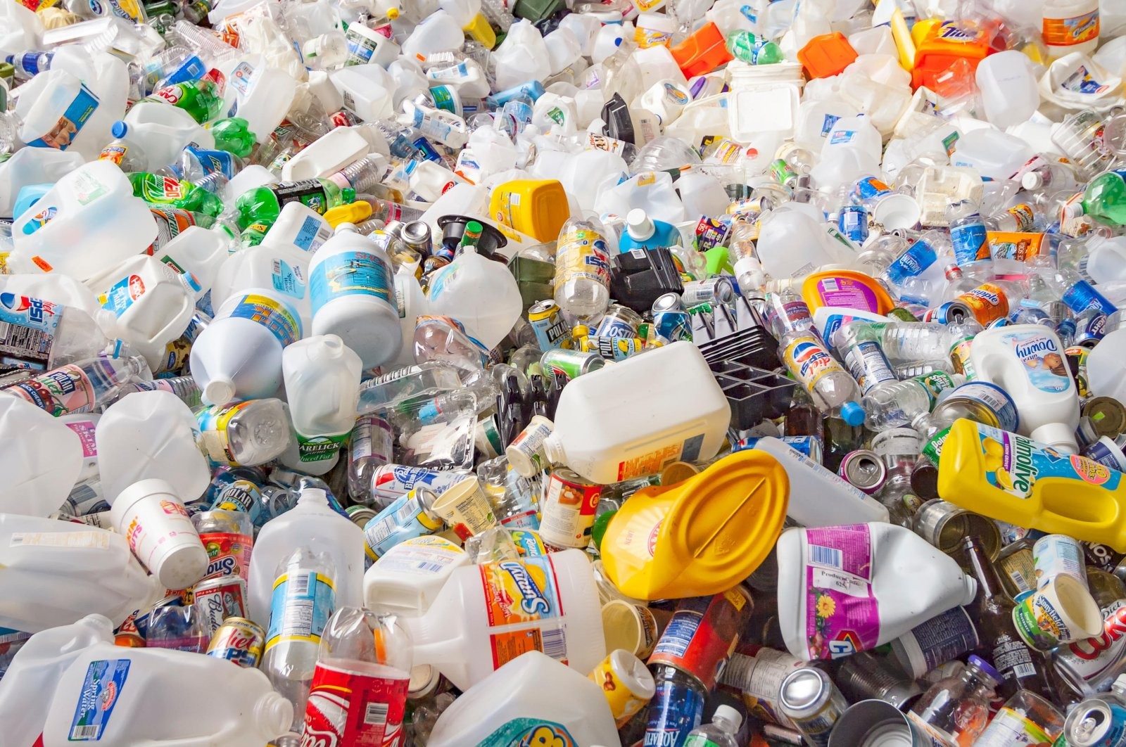 Turkey removed polymers such as plastic bags and styrofoam cups from the waste products that can be imported into the country. (Alamy Photo)