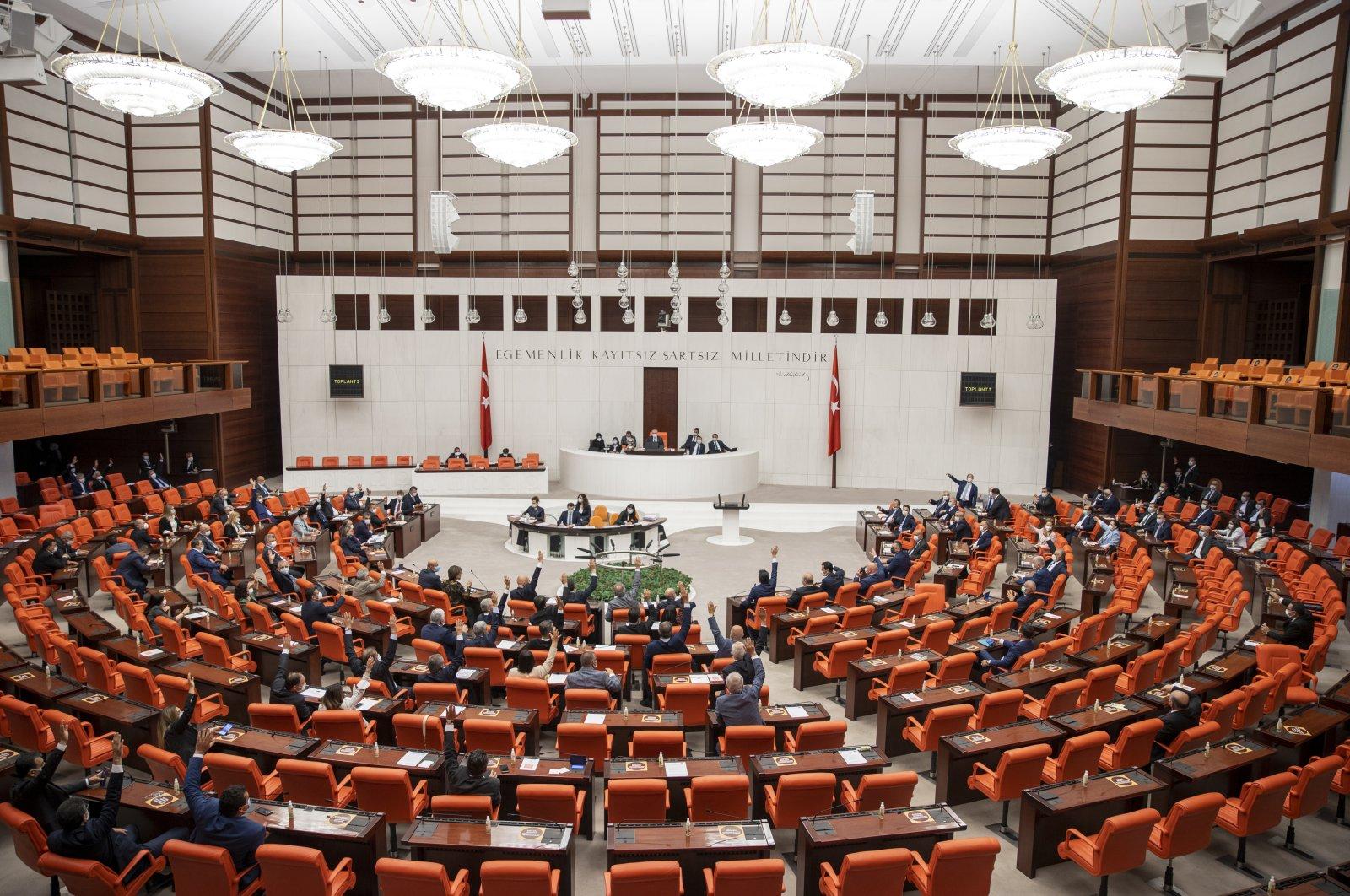 The Grand National Assembly of Turkey (TBMM), capital Ankara, Turkey, May 18, 2021. (AA Photo)
