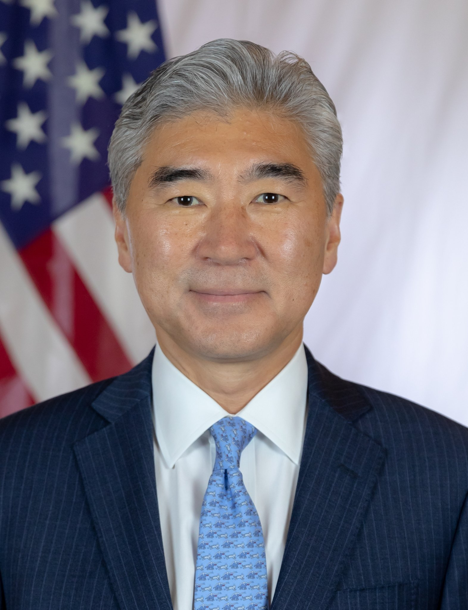 Special envoy to North Korea Sung Kim poses for his U.S. Department of State photo, Oct. 8, 2020. (U.S. Department of State)
