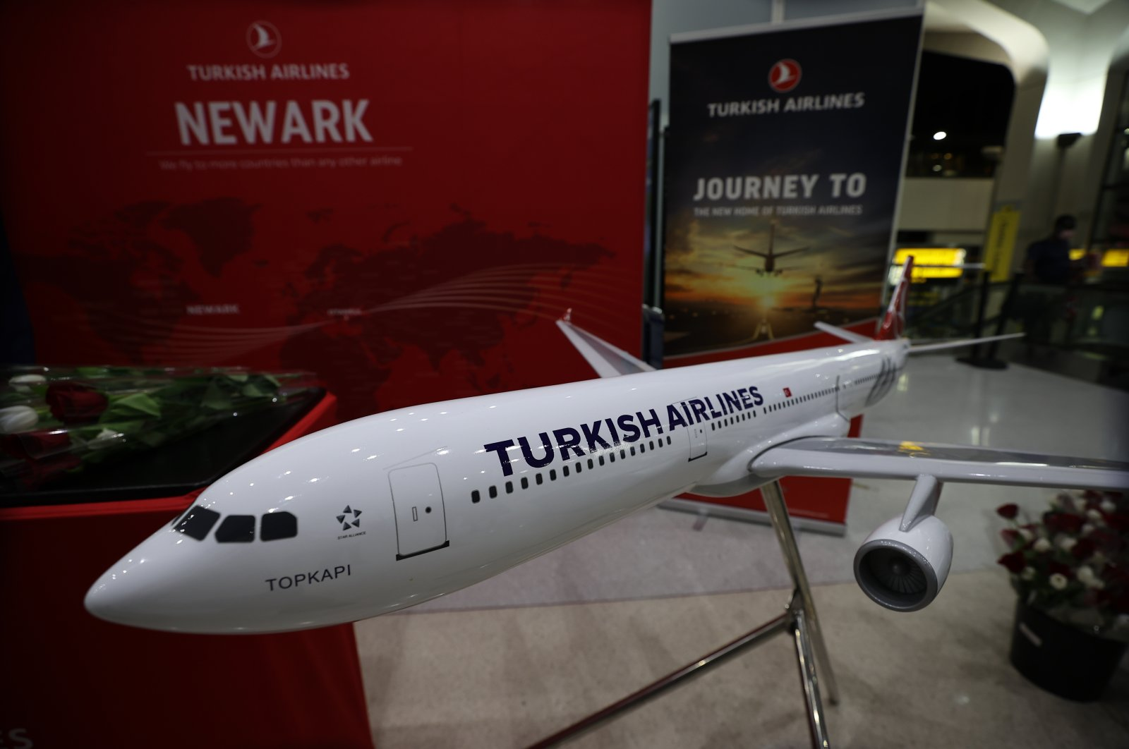 Newark will be the 10th destination of the Turkish flag carrier Turkish Airlines (THY) to the U.S. (AA Photo)