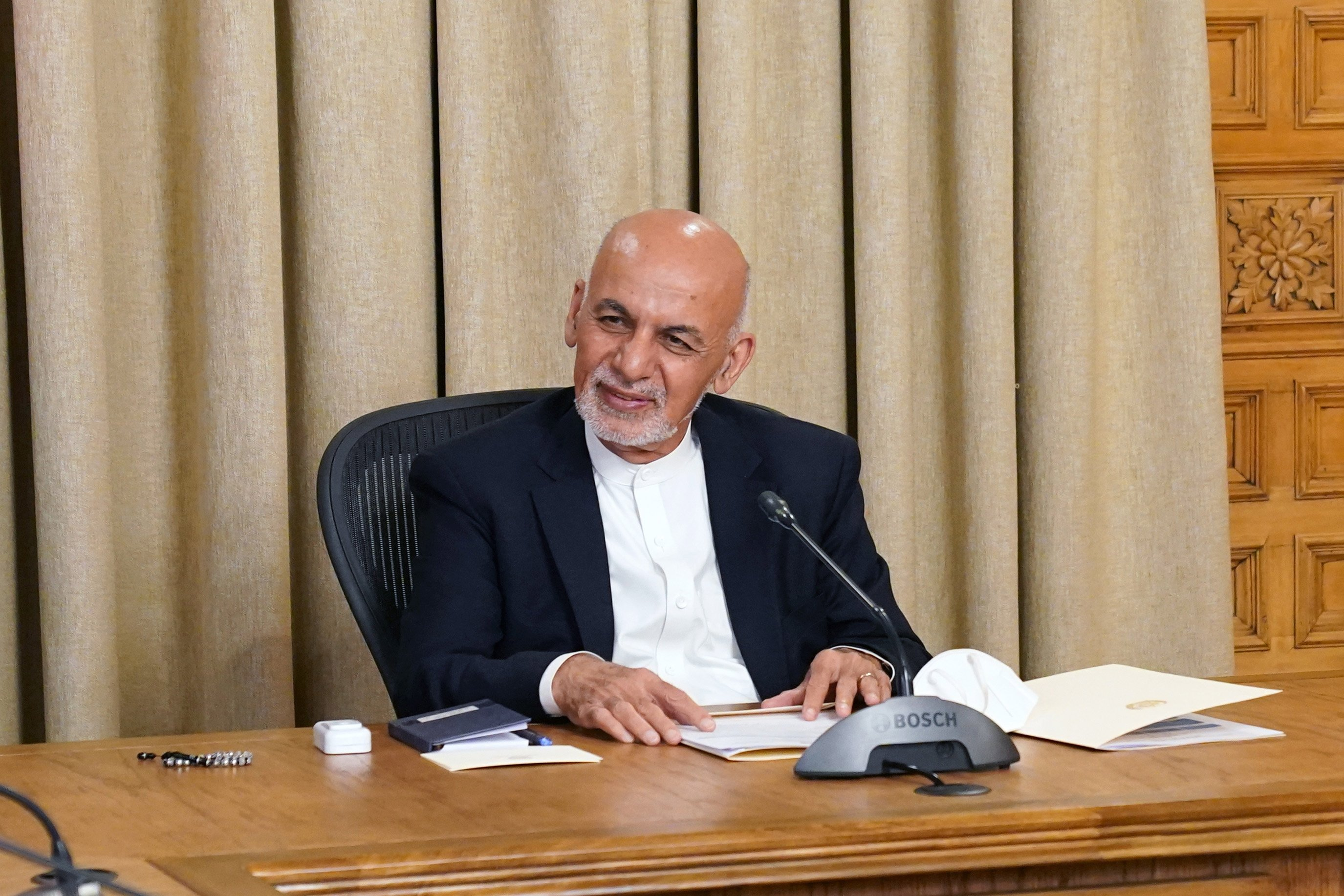 Afghan President Ghani Hails Turkey S Support For Peace Daily Sabah
