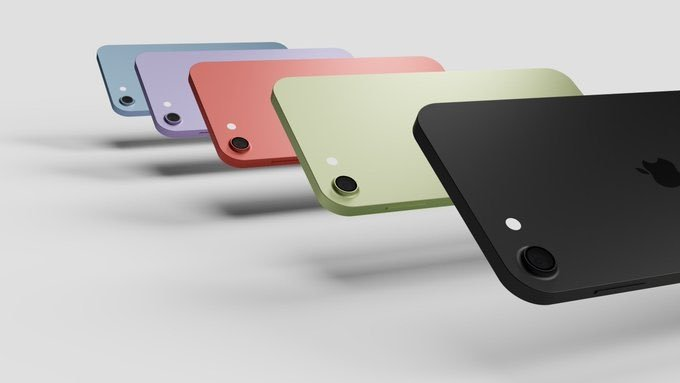 Different colors of the potential successor to the iPod line are seen in this picture shared by Apple Tomorrow on Twitter, May 21, 2021. (Photo by @Apple_Tomorrow / Twitter)