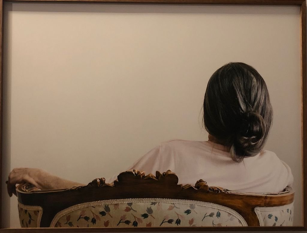 """Cemre Yeşil's """"Double Portrait"""" is a reverie in the form of images and words. (Photo by Matt Hanson)"""